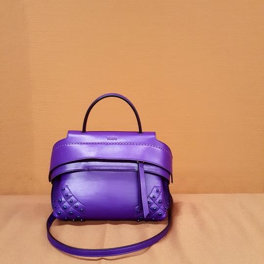 Purple Wave Bag