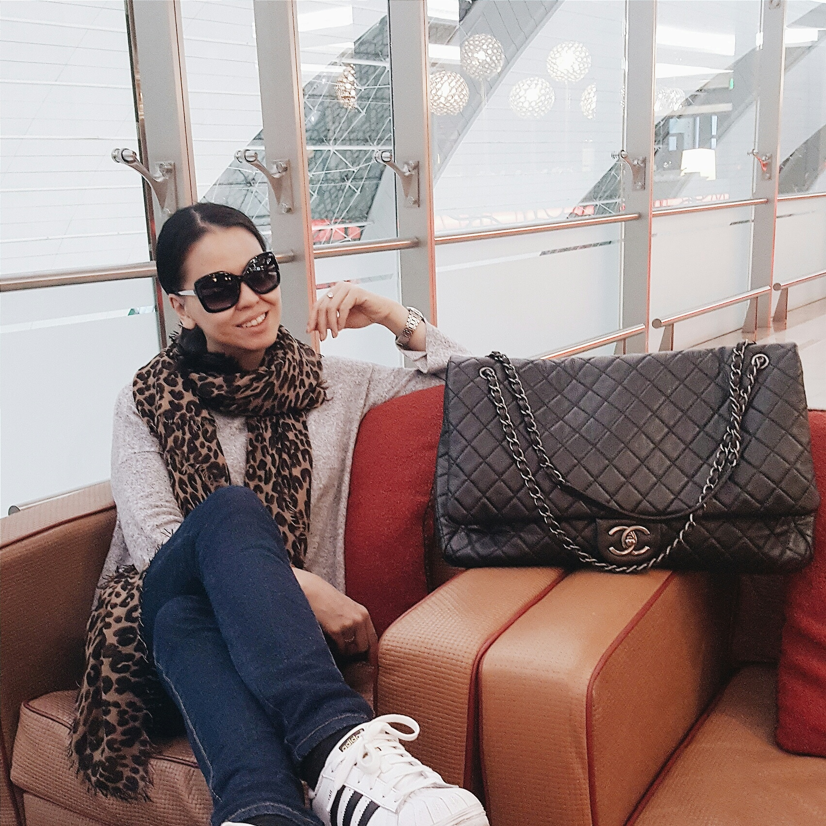 cb0ba58bcac7 Flying with the Chanel XXL Travel Bag – The Bag Hag Diaries