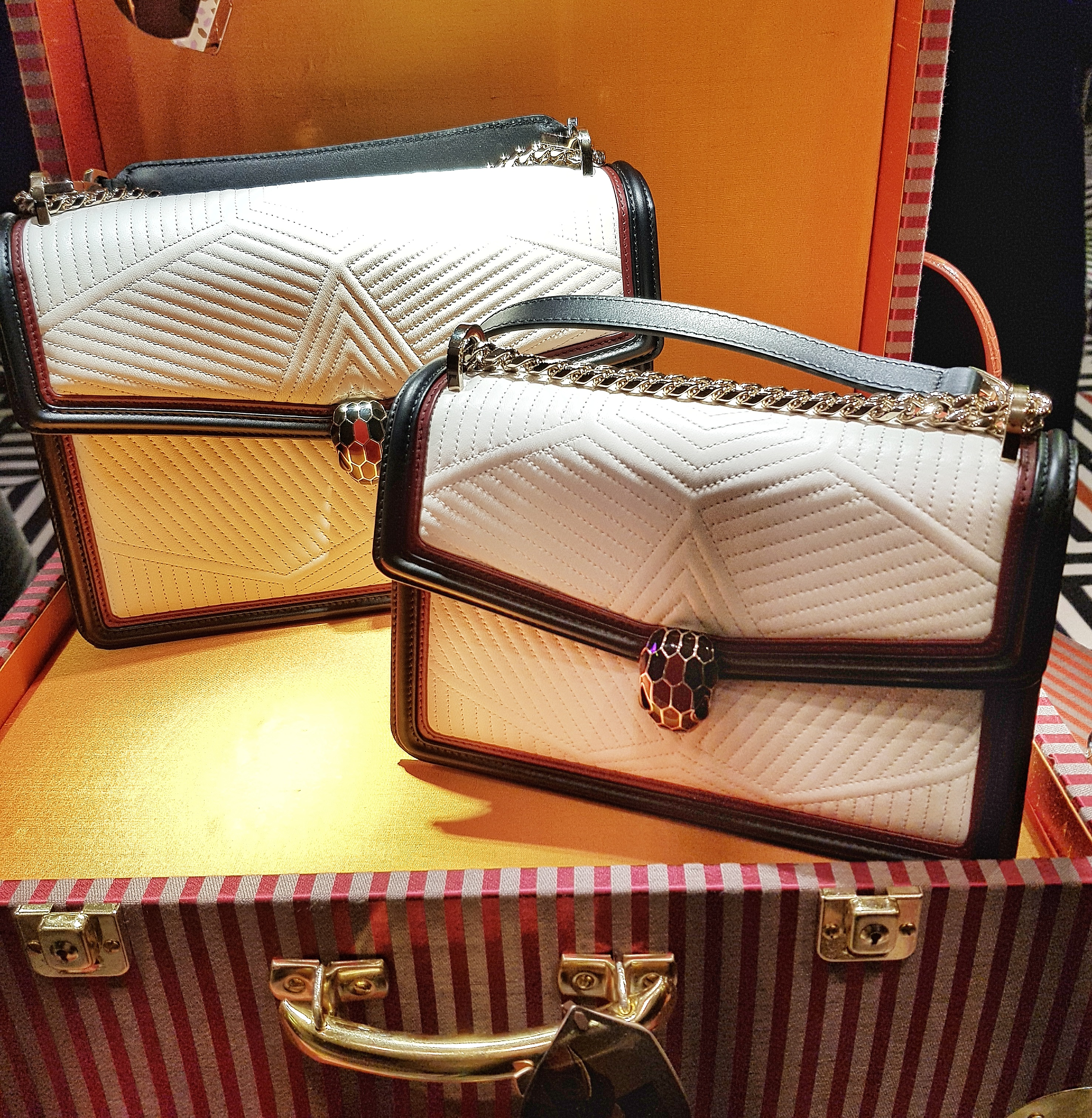 Because Of The Chanel Classic Flap But Why Go For Another Quilted Bag Like Everyone Else When You Can Be Different And Something More Luxe