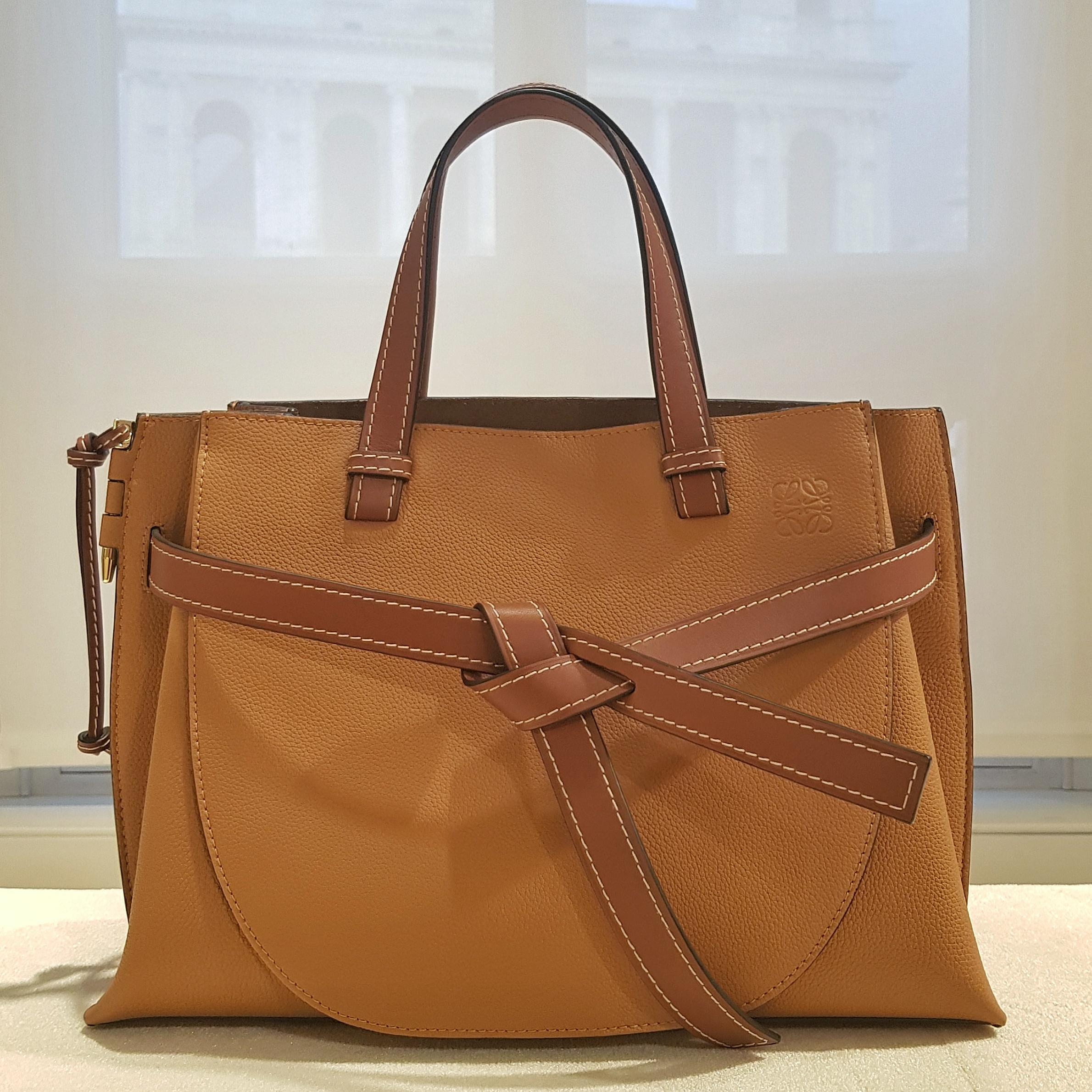 Bag Review Loewe Gate Tote The Bag Hag Diaries