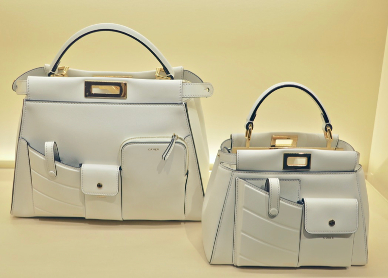 ... in two sizes (as seen on the white) and different colors as well (I  love the white 5a92f3d108305