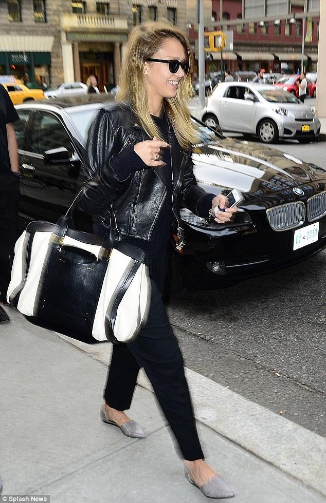 Celebrity Bag: Jessica Alba \u0026amp; Chloe Alice Springs | The Bag Hag ...